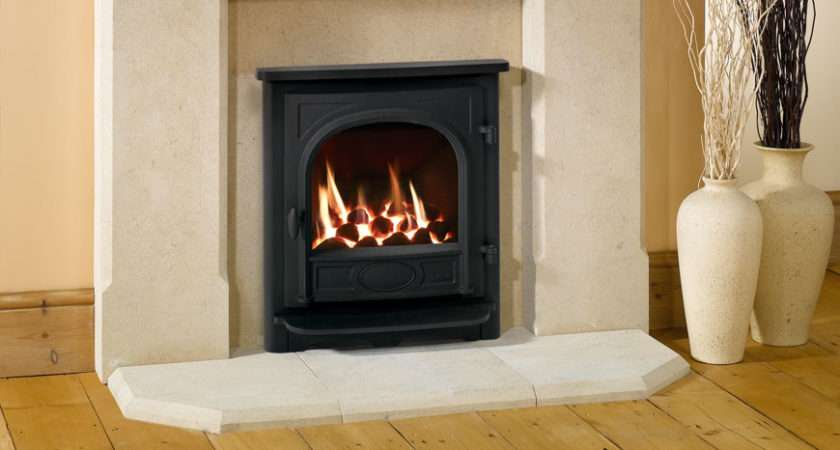 Logic Fire Coal Fuel Bed Stockton Inset Complete Front
