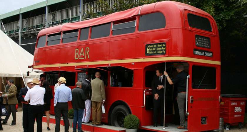 London Bus Bar One Number Routemasters