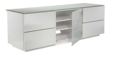 London Designer High Gloss White Stand Allans