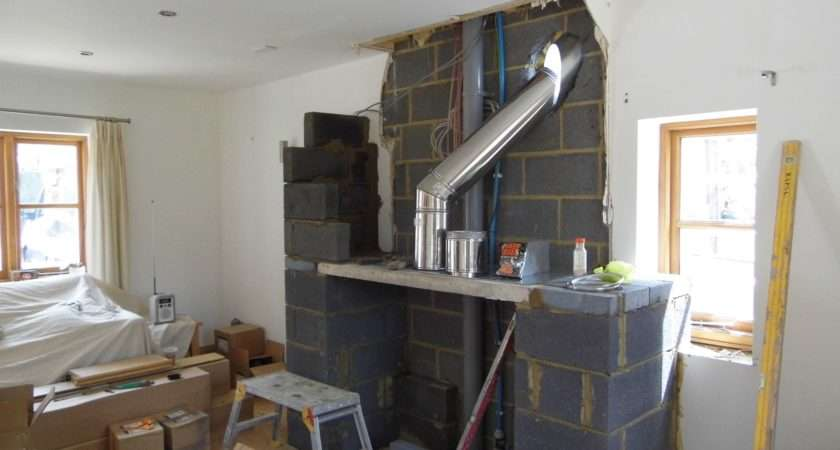 Long Crendon Faux Chimney Breast