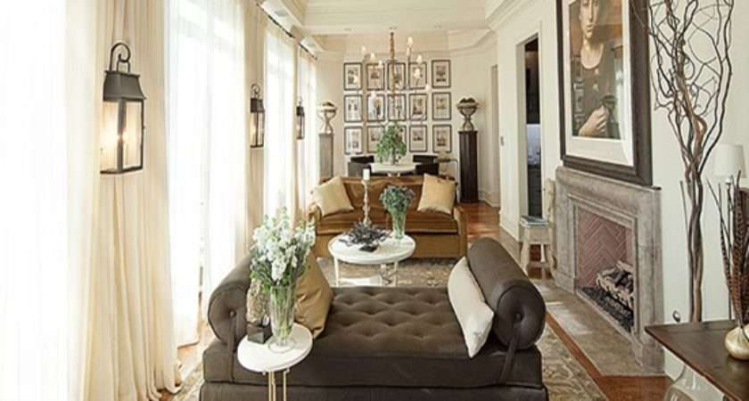Long Living Room Decorating Ideas Narrow