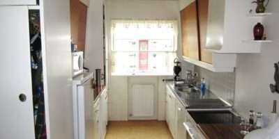 Long Narrow Kitchen Designs Galley