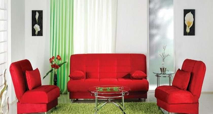Look Cool Red Green Decor Especially Against White Walls