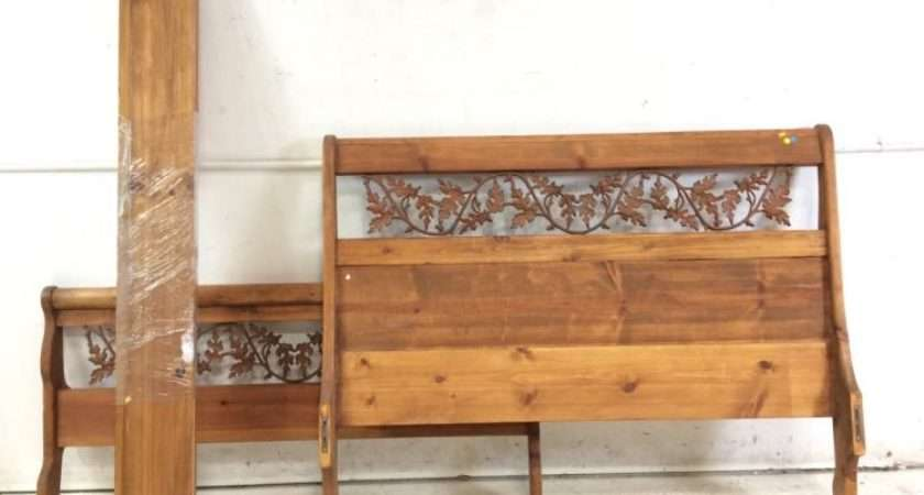 Lot Rustic Southwestern Style Queen Bed Frame