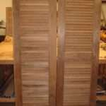 Louver Doors Decorating Interior Louvered