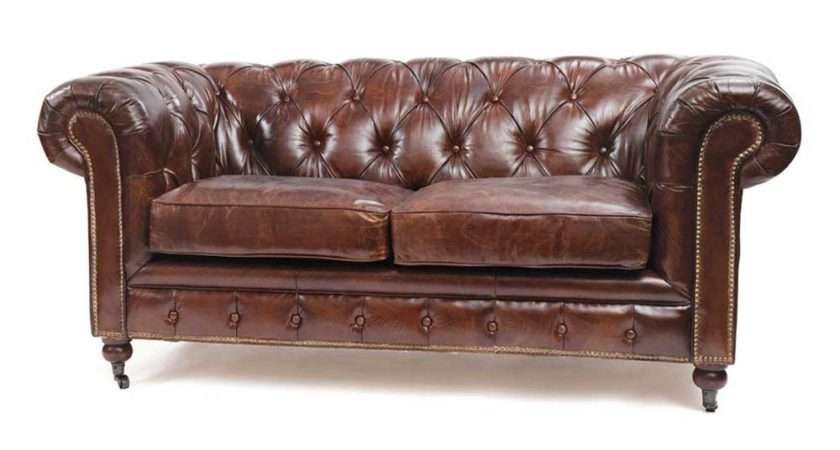 Lovely Antique Sofa Styles Vintage Brown Leather Couch