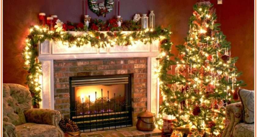 Lovely Christmas Fireplace Mantel Ideas Decor