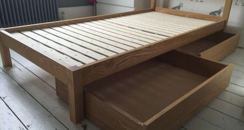 Lovely Muji Bed Large Underbed Storage Drawers Need