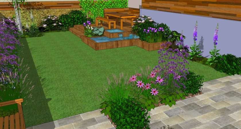Low Maintenance Garden Designs Club London