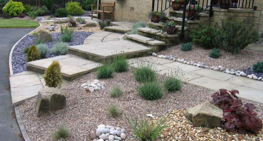 Low Maintenance Garden Ideas Gravel Gardens