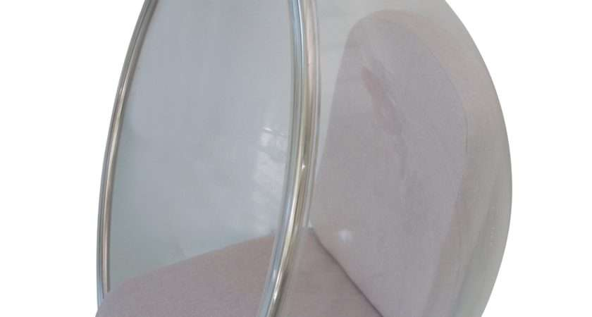 Lucite Hanging Bubble Chair Chairish