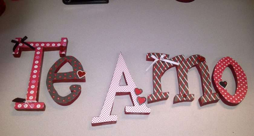 Lucky Girl Diy Decorate Wooden Letters Part
