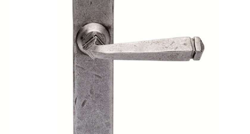 Ludlow Foundries Hand Forged Gothic Door Handle Latch