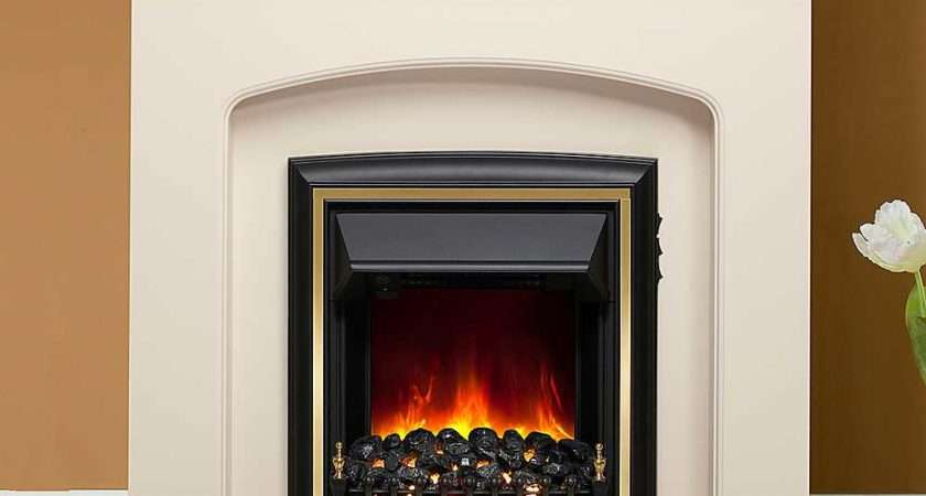 Lusso Eco Ivory Electric Fire Suite Modern Look Again
