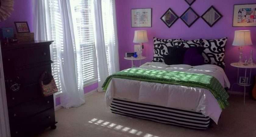 Luxurious Bedroom Designs Purple Color