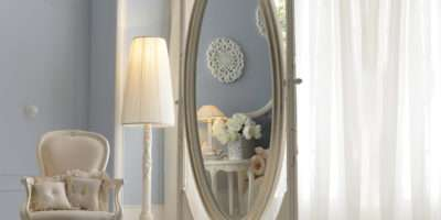 Luxurious Italian Oval Dressing Mirror Juliettes Interiors