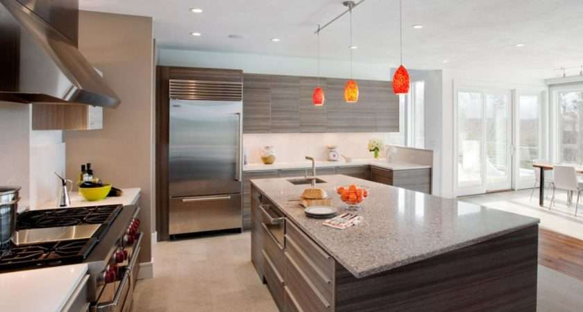 Luxurious Touch Applying Modern Kitchen Cabinets