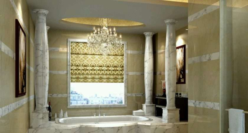 Luxury Bathrooms Grasscloth