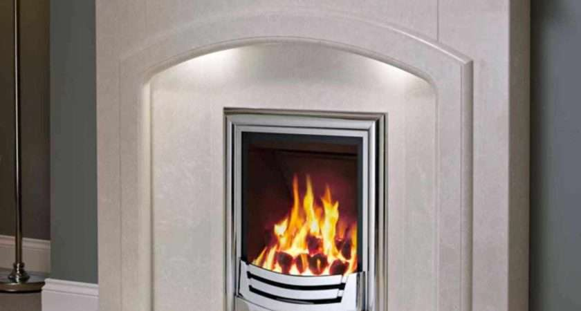 Luxury Design Modern Andorra Marble Fireplace