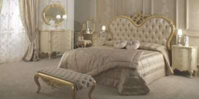Luxury Italian Bedroom Furniture Hand Carved Pieces