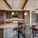 Luxury Kitchen Island Designs Designing Idea