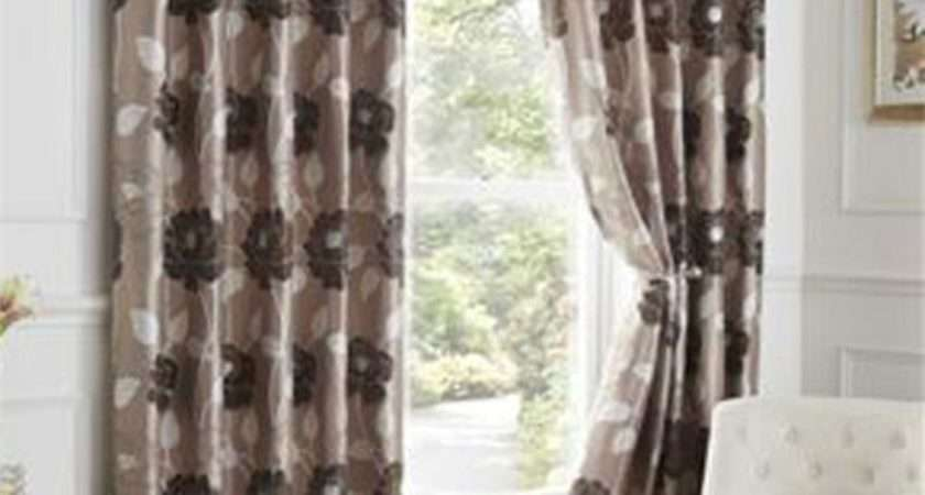 Luxury Lined Curtains Ready Made Eyelet Ring Top