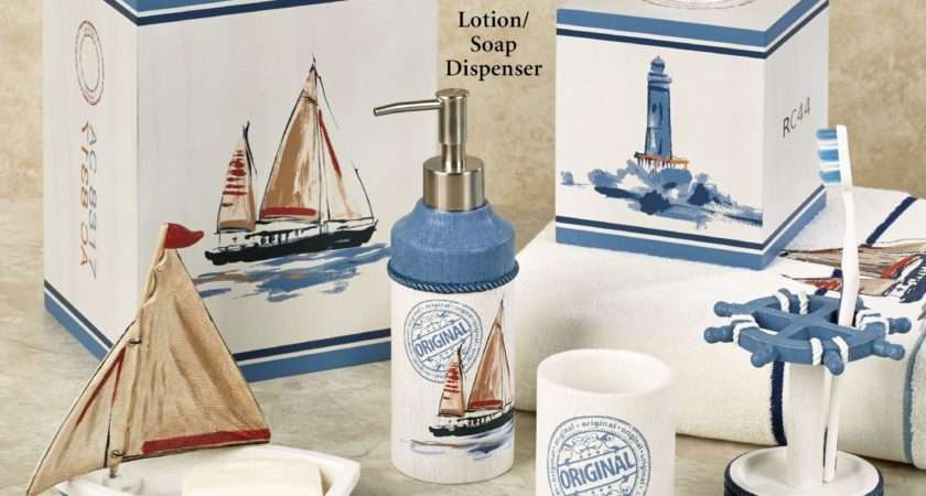 Luxury Nautical Bathroom Accessories Dkbzaweb