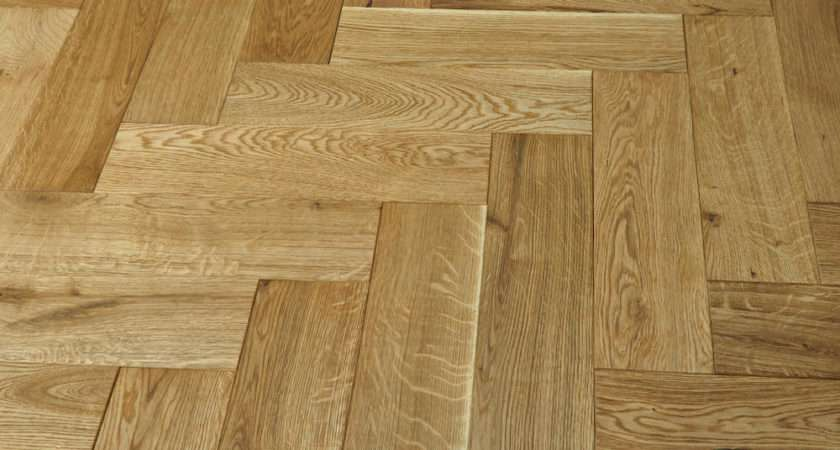 Luxury Parquet Natural Oiled Oak Solid Wood Flooring