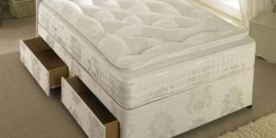 Luxury Pocket Sprung Divan Bed Pillow Top