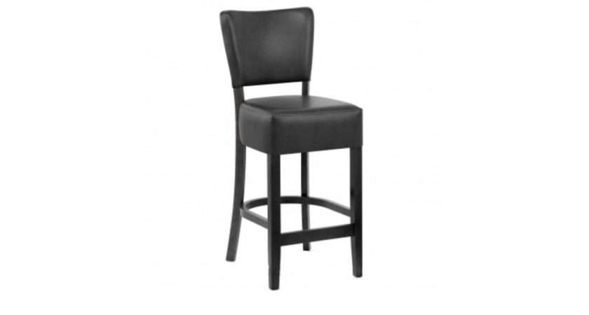 Lydia Black Faux Leather Dining Chair Chairs Room