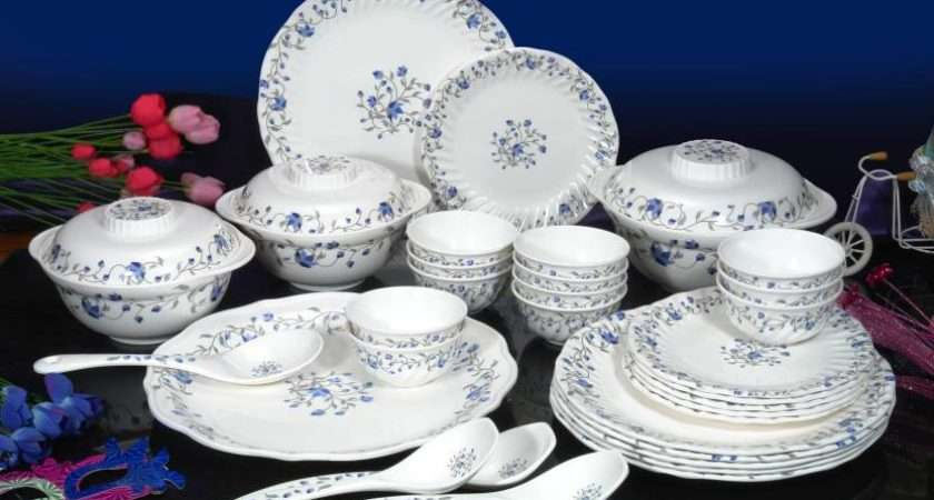 Machi Mircle Blue Pack Dinner Set Price India
