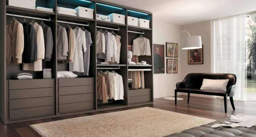 Made Measure Fitted Walk Wardrobe London