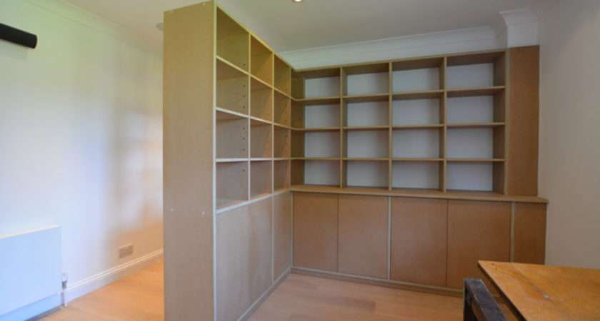 Made Measure Study Storage Room Divider