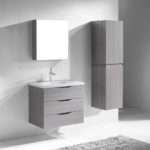 Madeli Bolano Bathroom Vanity Ash Grey Old