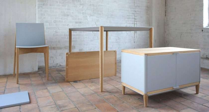 Magnetic Flat Pack Furniture Easier Assemble Than Ikea