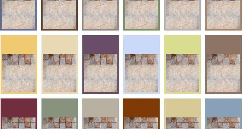 Magnificent Painting Bathroom Tile Colors Inspiration