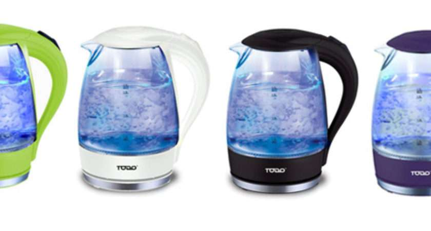 Make Boiling Water Fun Experience Cordless Glass Kettle