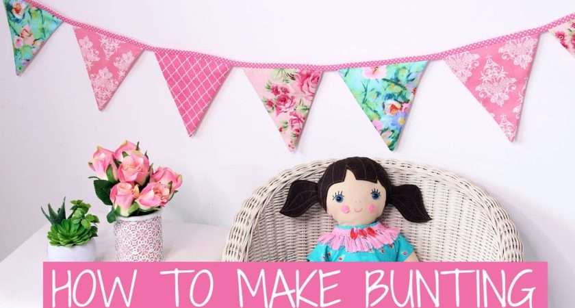 Make Bunting Baby Template