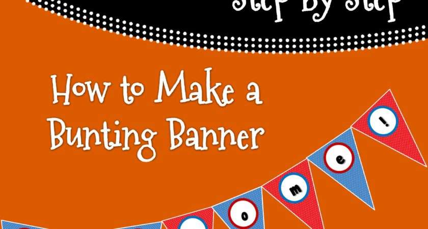 Make Bunting Banner Powerpoint Turn Learn