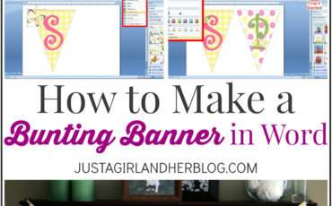 Make Bunting Banner Word Clip Art Tips