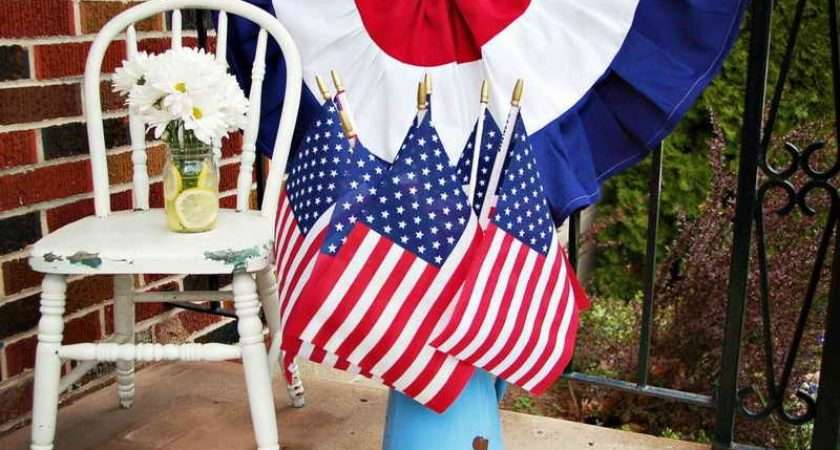 Make Bunting Flags Cake Topper