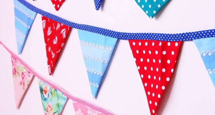 Make Bunting Template Shapes Treasurie