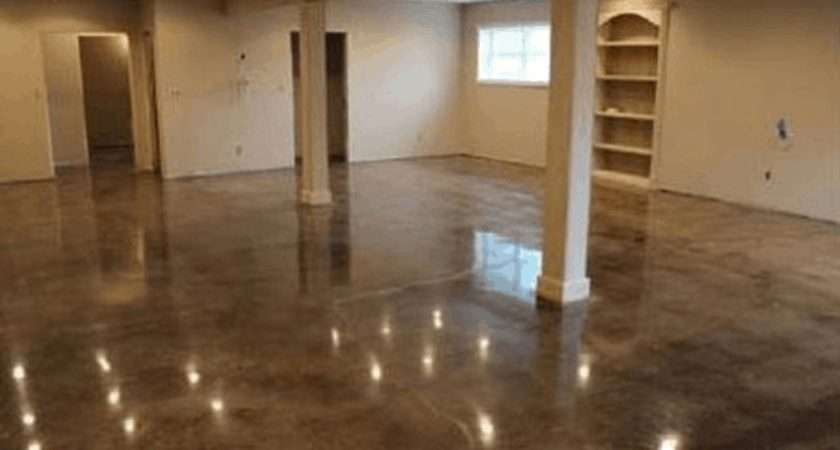 Make Cement Floors More Appealing Diy Projects