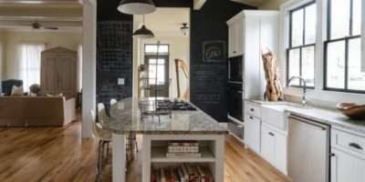 Make Chalkboard Paint Kitchen Wall