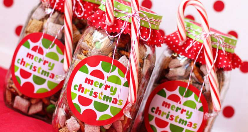 Make Handmade Chex Mix Holiday Gifts Bonus