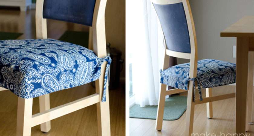 Make Happy Dining Chair Slipcovers