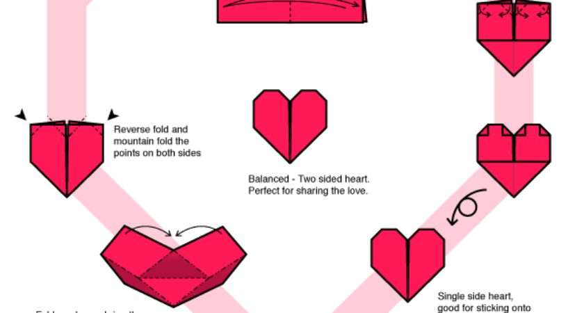 Make Heart Out Paper Step Easy