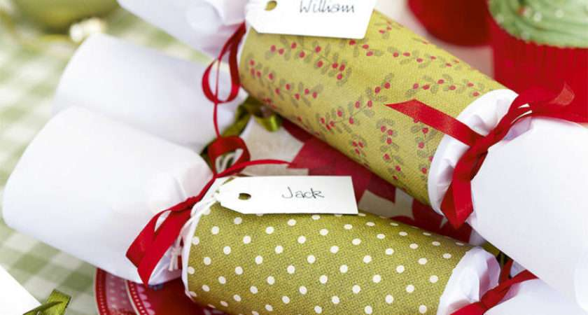 Make Homemade Christmas Crackers Whole