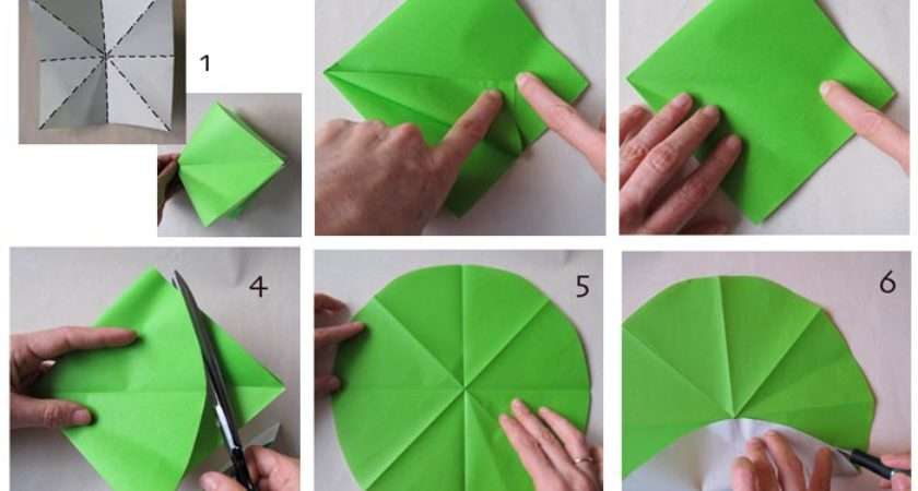 Make Origami Windmill Children All Ages