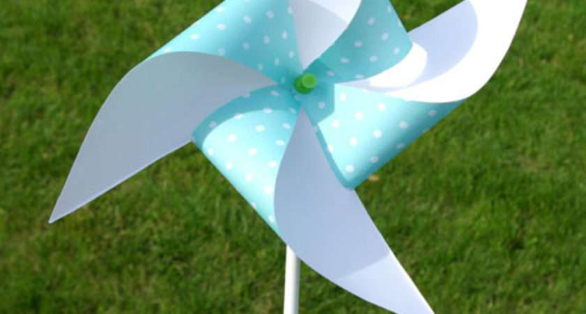 Make Paper Windmill Fans